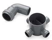 [ 08 ]  PVC Sewer Fittings